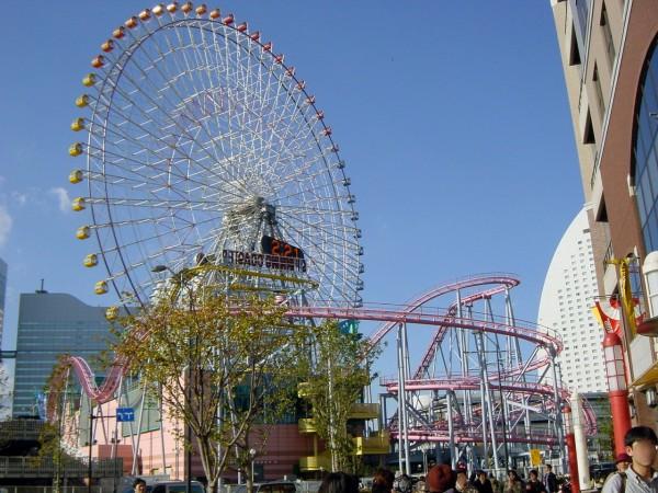 コスモワールド(横浜)の風景写真 | 横浜風景のフリー写真素材集『はまの景』