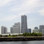Minatomirai viewed from sea