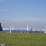 Baybridge viewed from Rinkou park