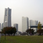 Landmark tower viewed from Unga park