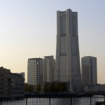Bankokubashi and Landmark tower