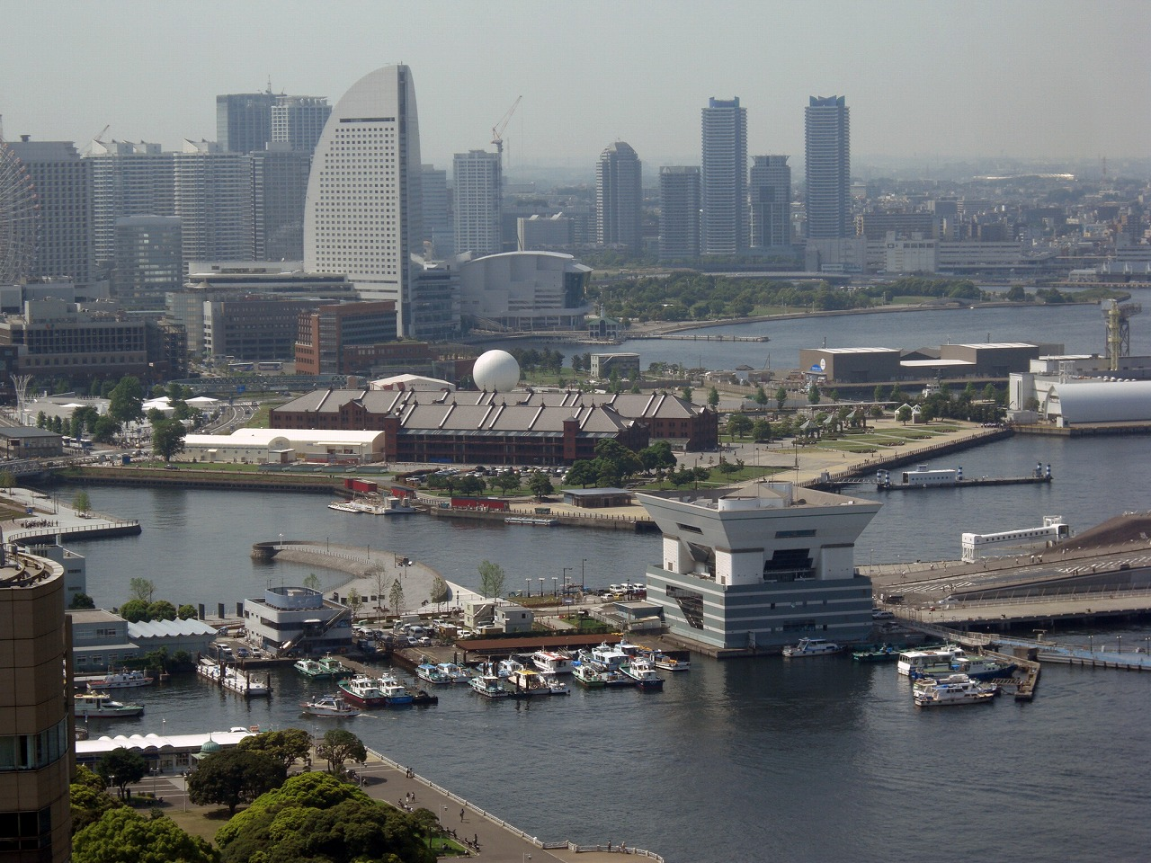 Minatomirai viewed from Marine Tower