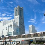 Landmark tower and Sakuragicho station