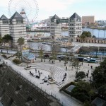 Dockyard garden and Cosmoworld area